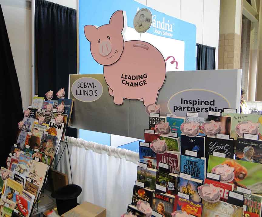 SCBWI Booth