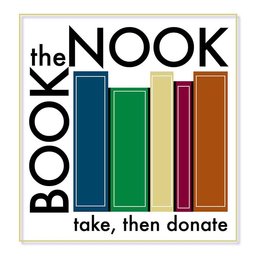 Book Nook Logo and Sign