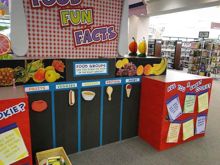 Educational Food Fun Facts Play Area