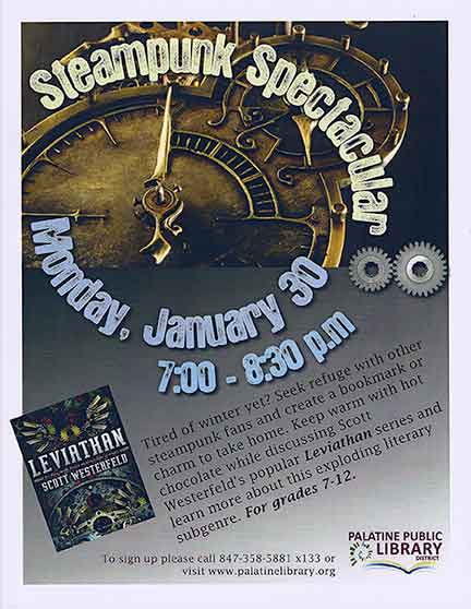 Steampunk Event Poster